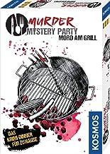 KOSMOS 695118 - Murder Mystery Party - Mord am Grill - Das Krimi-Dinner für zu Hause, Komplett-Set für genau 6 - 8 Persone...