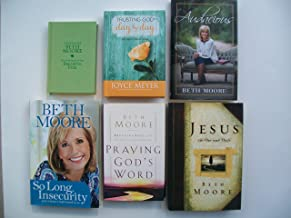 Trusting God Day By Day, Quick Word with Beth Moore, Audacious, So Long Insecurity, Praying God's Word, Jesus The One and Only (Set of 6)