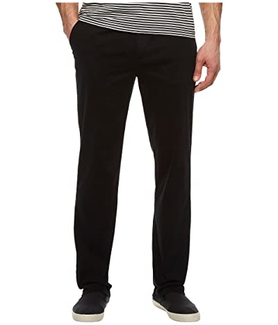 Nautica Classic Fit Stretch Deck Pants (True Black) Men
