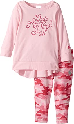 Carhartt Kids - Little Miss Tough Stuff Set (Infant)