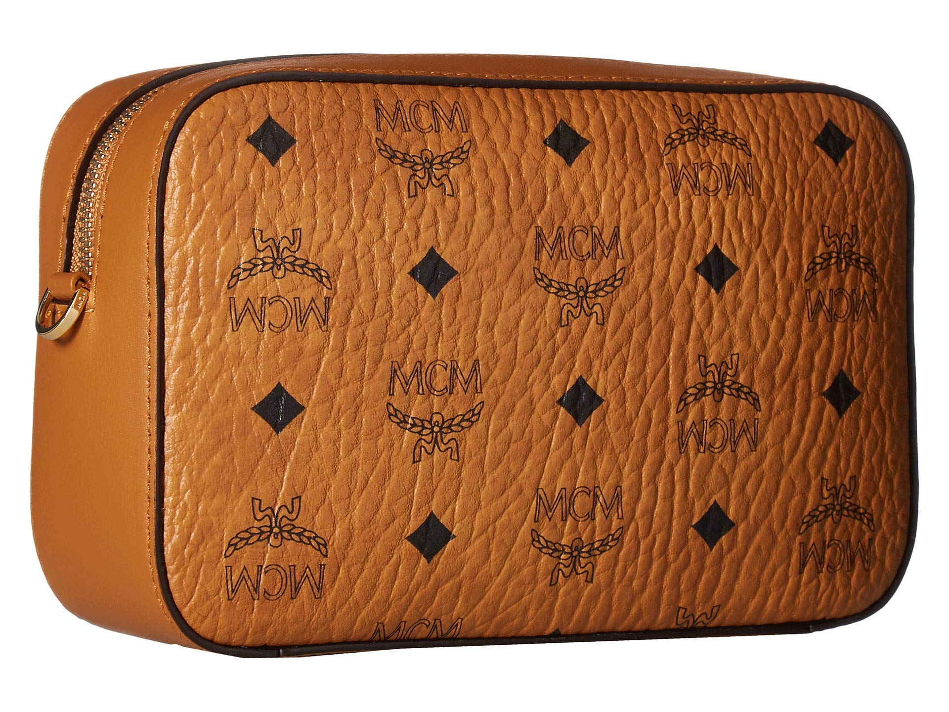 Others Visetos Mcm Cognac Small Original Leather Goods qXSrSpwd