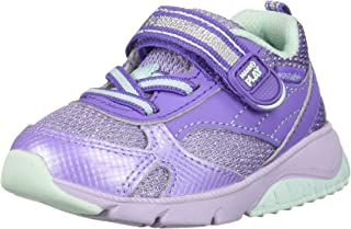 Stride Rite Unisex-Child SBGS190602 Made2play Indy Boy's/Girl's Machine Washable Sneaker Purple Size:
