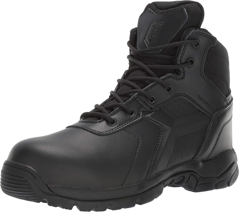 Battle OPS Men's 6-inch Waterproof Side Comp Zip NEW ARRIVAL Tactical S 特売 Boot