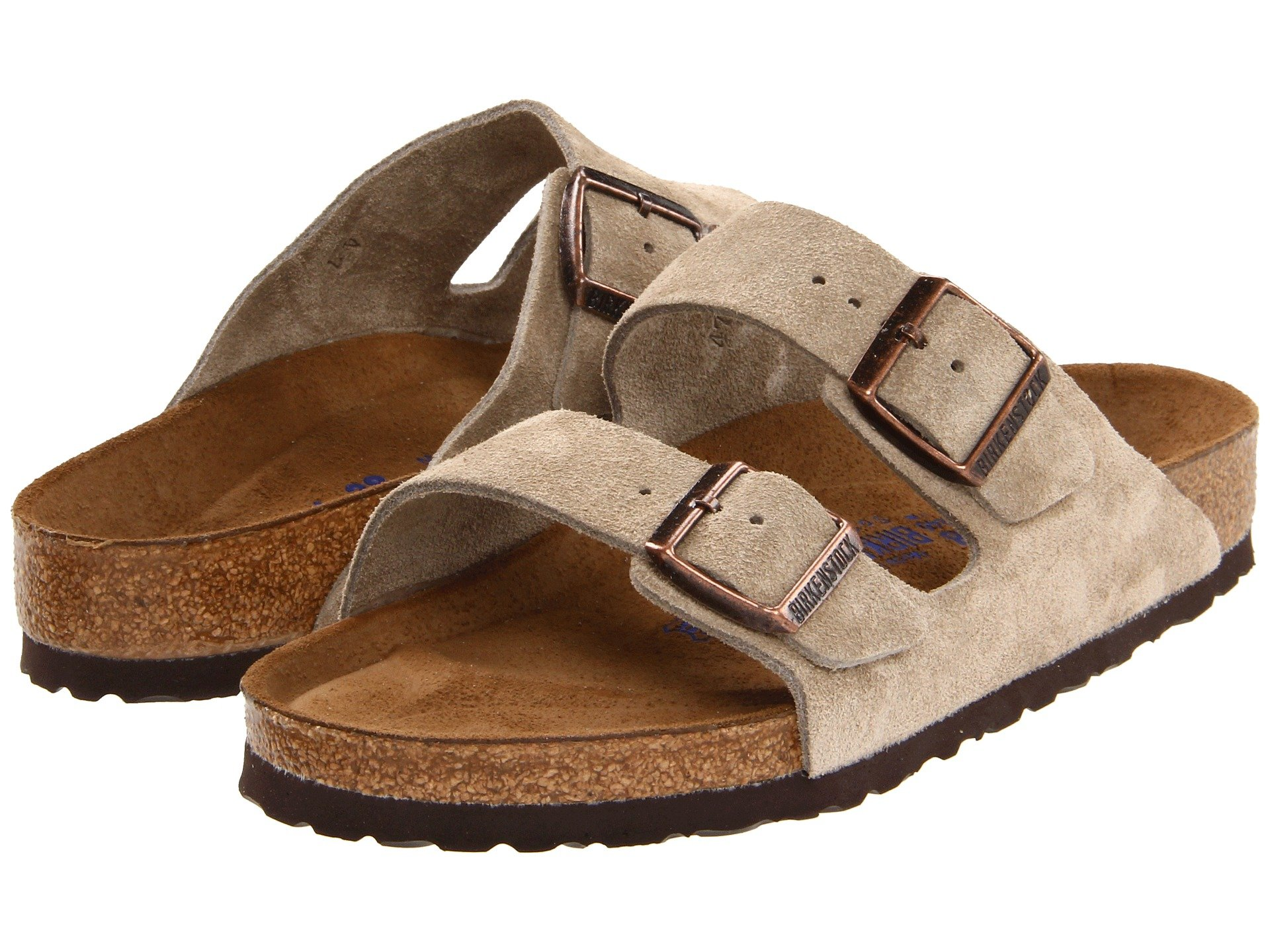 Birkenstock Arizona Soft Footbed Suede Unisex At