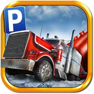 3D Ice Road Trucker Parking Simulator Game