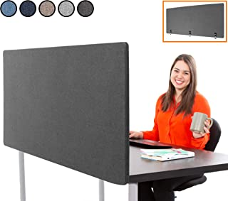 Stand Steady ClipPanel Desk Mounted Privacy Panel   Height A