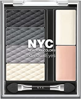 N.Y.C. New York Color Individual Eyes, Smokin' Charcoals.262 Ounce