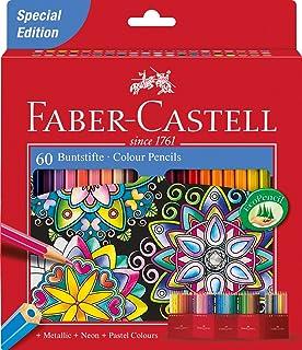 Faber-Castell - Lápices de colores (60 unidades)