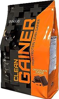 Rivalus Clean Gainer - Chocolate Fudge 10 Pound - Delicious Lean Mass Gainer with Premium Dairy Proteins, C...
