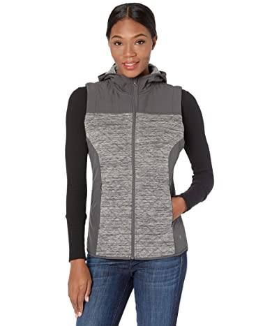 Royal Robbins Shadowquilt Hooded Vest (Asphalt) Women