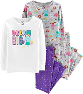 Carter's Baby Girls' 4 Pc Cotton 331g170