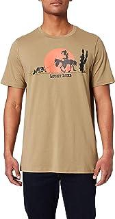 Only & Sons ONSLUCKY LUKE LIFE REG TEE NF 9234 Heren T-Shirt