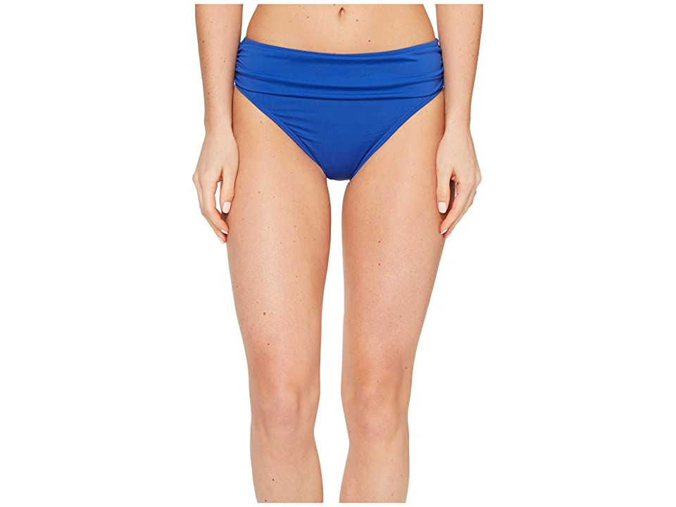 Tommy Bahama Pearl High-Waist Hipster Bikini Bottom (Old Royal) Women