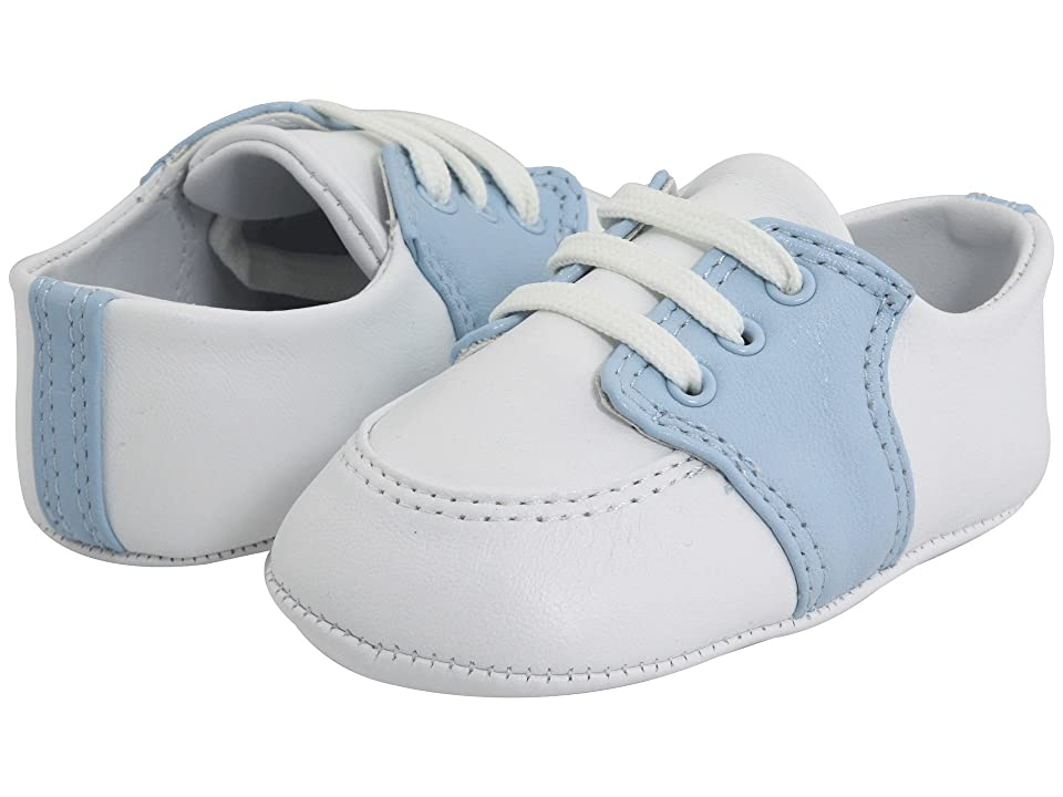 Baby Deer Conner (Infant) (White/Light Blue Leather) Boy