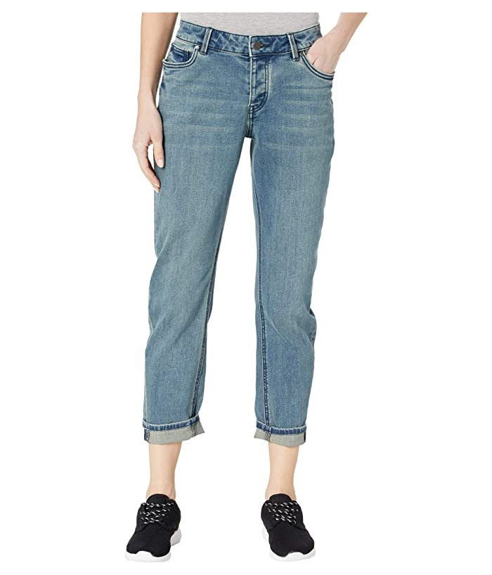 Vintage High Waisted Trousers, Sailor Pants, Jeans Prana Buxton Jeans Heritage Wash Womens Jeans $108.95 AT vintagedancer.com