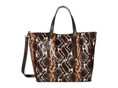 Frances Valentine Margaret Tote (Natural/Brown) Handbags