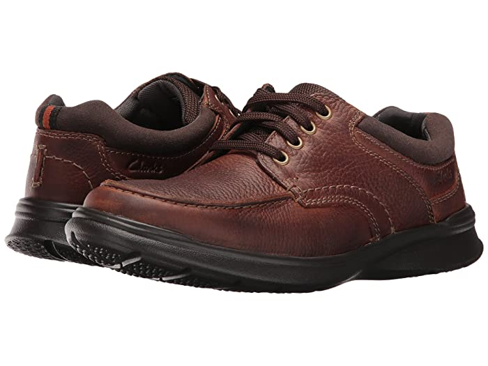 Clarks  Cotrell Edge (Tobacco Oily Leather) Mens Shoes