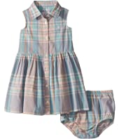 Madras Shirtdress & Bloomer (Infant)