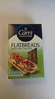 Carr's Flatbreads Mixed Seed Crackers, 5.3 Ounce