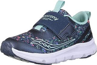 Saucony Kids' Baby Liteform Sneaker, Navy/Print, Size 5 XW US Toddler US