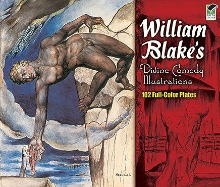 William Blake's Divine Comedy Illustrations: 102 Full-Color Plates (Dover Fine Art, History of Art) (English Edition)