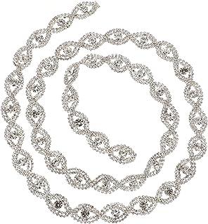 ARTIBETTER Waist Chain Rhinestone Body Chain Jewelry Belly Chain Crystal Rhinestones Chain Dress Belts Clothes Accessory f...