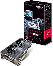 Sapphire Radeon Nitro Rx 480 8GB GDDR5 Dual HDMI / DVI-D / Dual DP OC w/ Back Plate (UEFI) PCI-E Graphics Card Graphic Cards 11260-20-20G