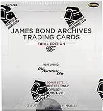 James Bond Archives 2015 Factory Sealed Box 24 Packs