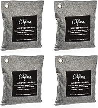 Bamboo Charcoal Air Purifying Bag (4 Pack), 200g Natural...