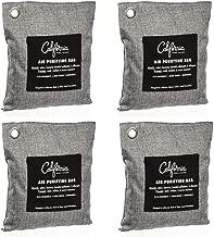 Bamboo Charcoal Air Purifying Bag (4 Pack), 200g Natural Air Purifying Bags, Activated Charcoal Odor Eliminators, Car Air Purifier, Closet Freshener, Home Air Purifier, Odor Eliminating Charcoal Bags