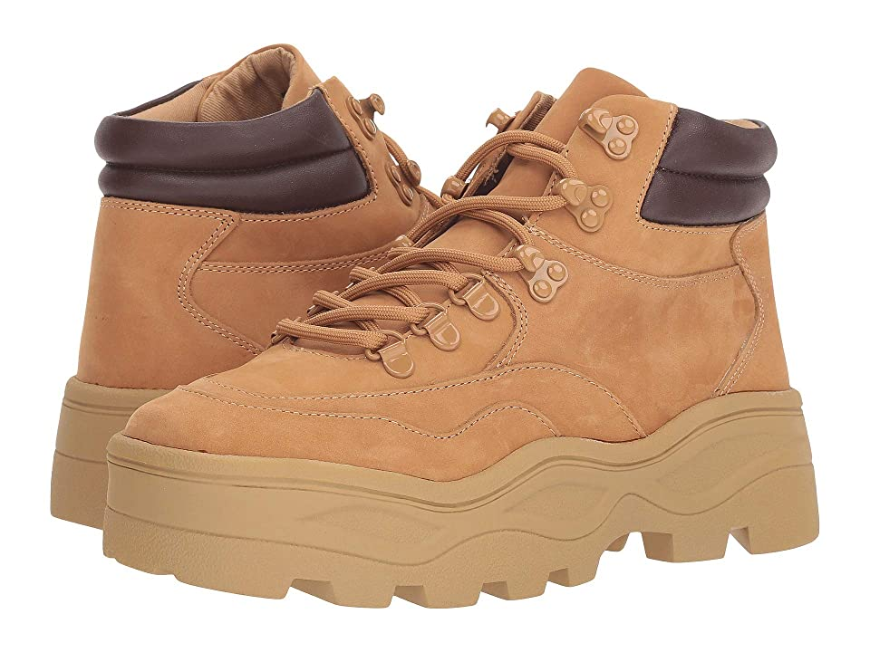 Steve Madden Rockie Hiker Boot (Tan Nubuck) Women