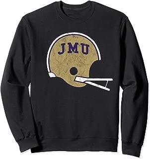 James Madison Dukes Retro Old School Jmu Football Sweatshirt