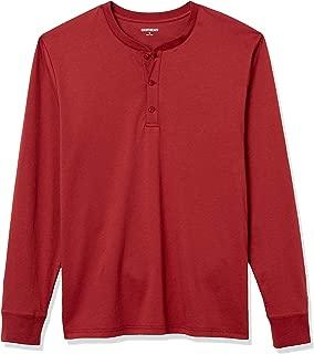 Amazon Brand - Goodthreads Men's Cotton Long-Sleeve Henley