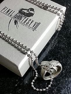 9-Volt Final Fantasy VIII Rinoa Necklace FF8 Squall Griever Cloud Serah Cosplay Anime