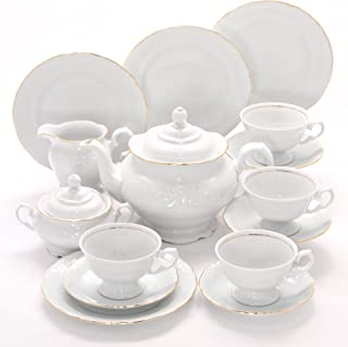 Tea With Grace Elegance Fine China Tea Set for Four