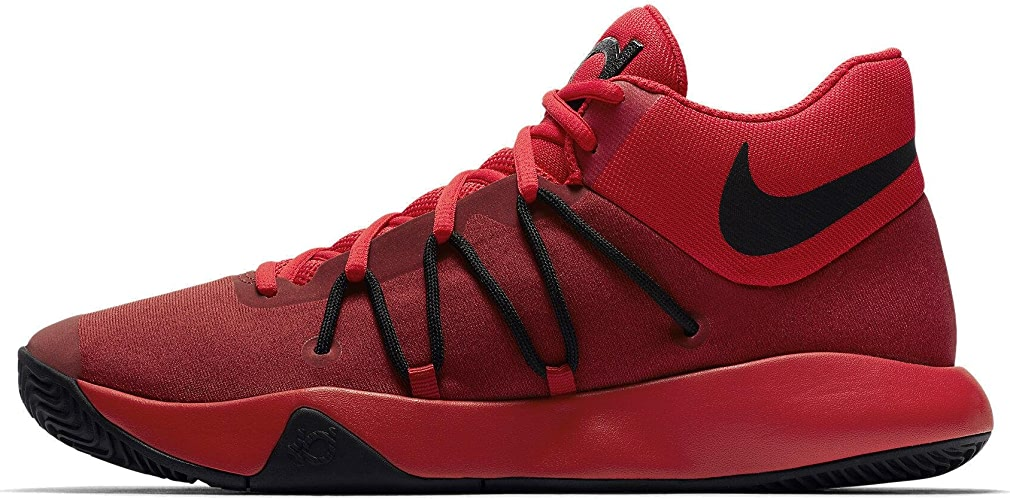 NIKE Men's KD Trey 5 V Basketball chaussures 12 rouge noir Christmas