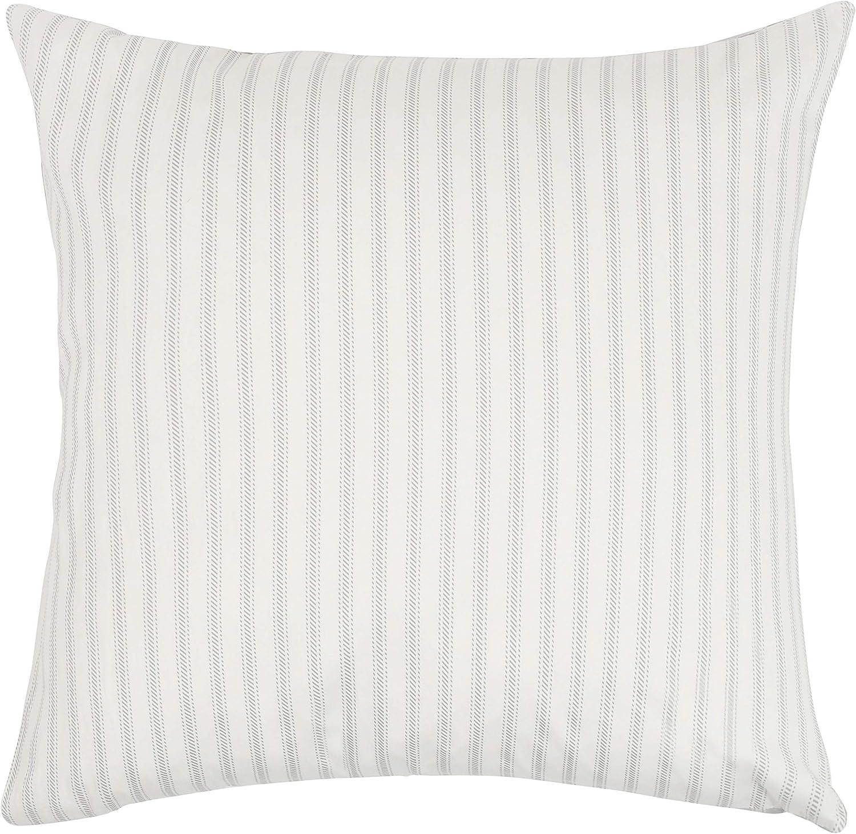 Dormify Hampton Stripe Euro Sham, Ultra Soft Cotton Sham, for FashionMinded and SmallSpace Decorating