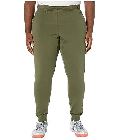 Nike Big Tall Dri-FITtm Cotton Pants (Cargo Khaki/Black) Men