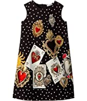 Dolce & Gabbana Kids - Sleeveless Dress (Little Kids)