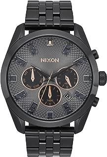 Nixon A9312525-00 Bullet Chrono Crystal Black Crystal / Rose Gold Watch