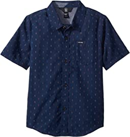Volcom Kids - Rollins Short Sleeve Shirt (Toddler/Little Kids)