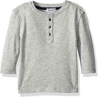 Splendid baby-boys Basic long sleeve henley Henley Shirt