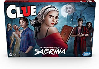 Hasbro Gaming Clue: Chilling Adventures of Sabrina Edition Board Game, Inspired by The Hit Series, Mystery Board Game for ...
