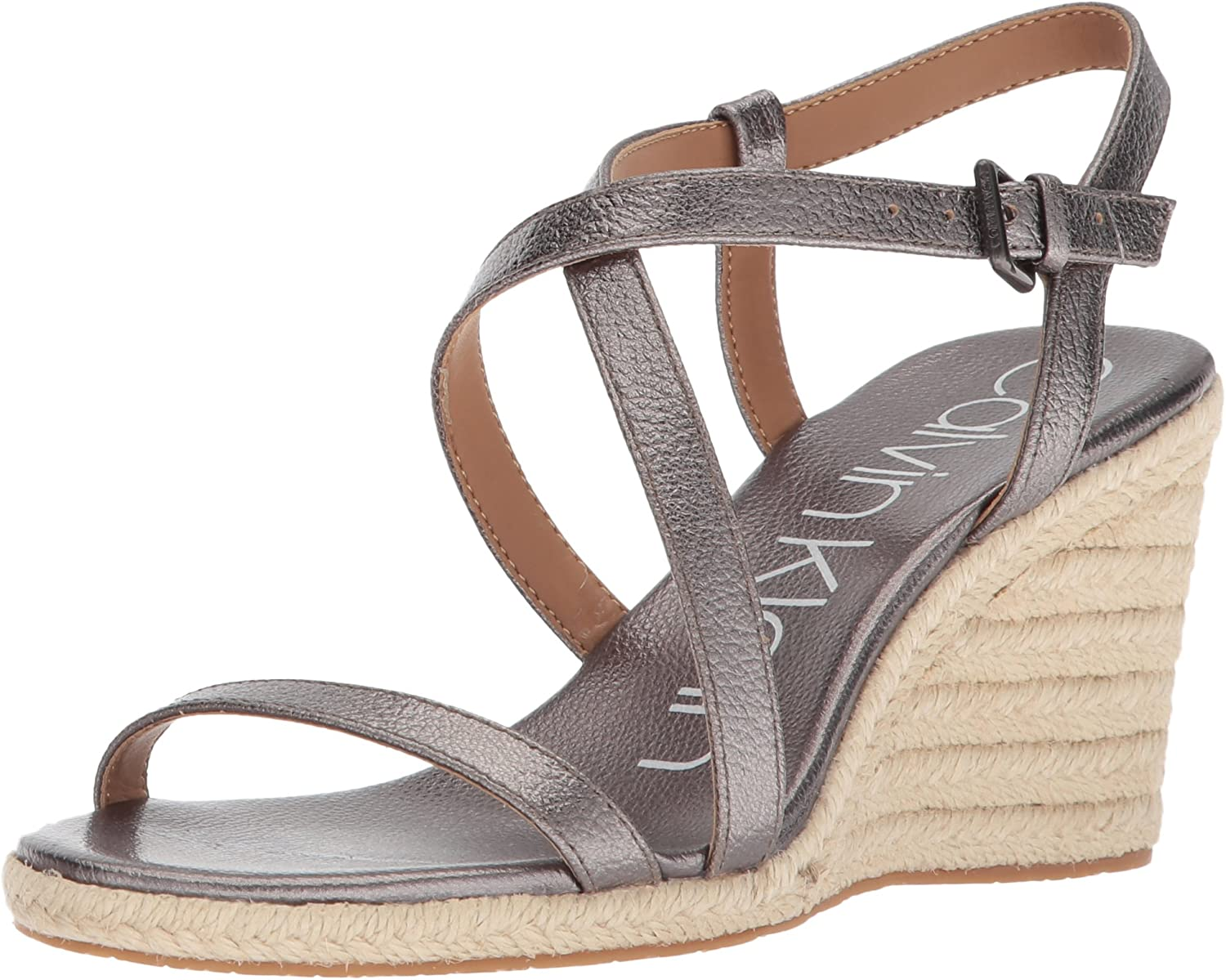 Calvin Klein Women's Sandal Popular products Wedge New color