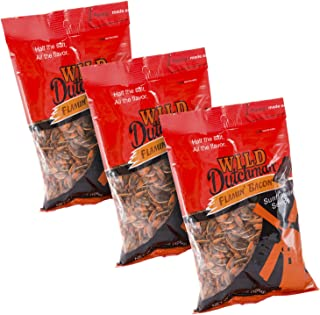 Wild Dutchman Sunflower Seeds, Flamin' Bacon, 5.5 oz Bags (Pack of 3)