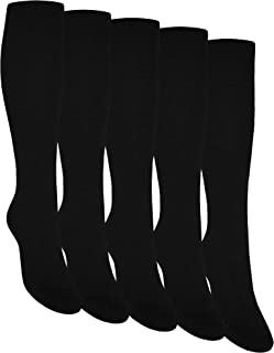 OCERA, 5 pares de calcetines hasta la rodilla unisex en diferentes colores