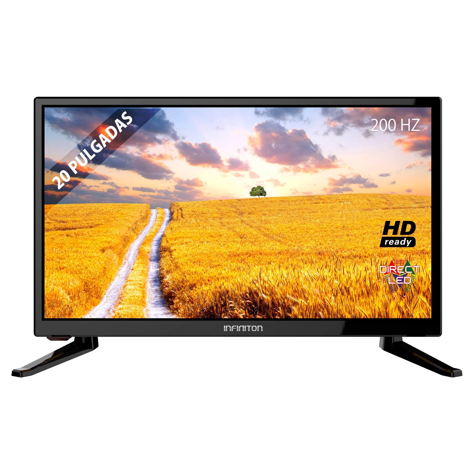 TV LED INFINITON INTV-20L 12V Caravana Negro Especial 12V Caravana: Amazon.es: Electrónica