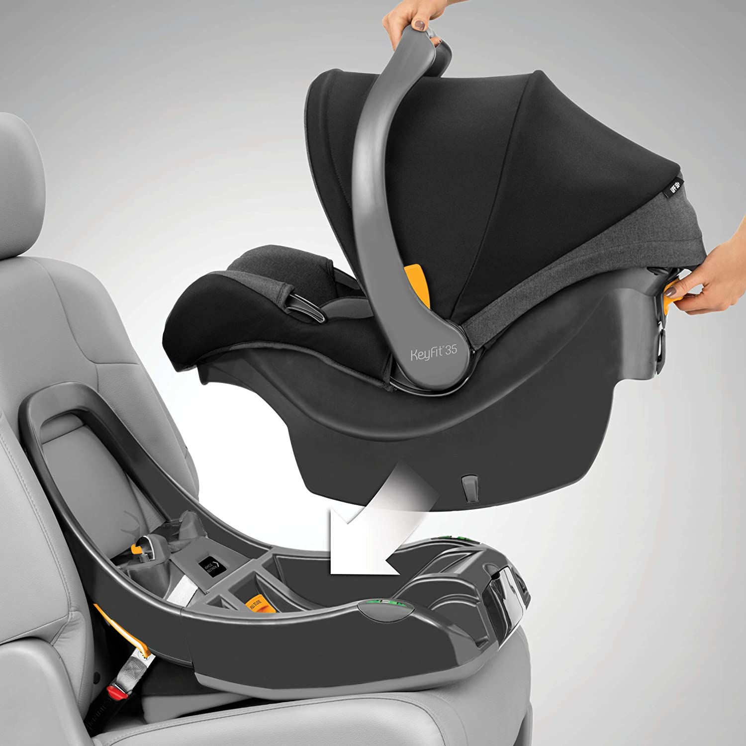 Chicco KeyFit 35 Infant Car Seat Base - Anthracite, Grey