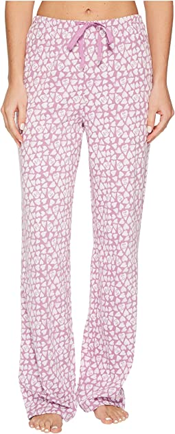 Life is Good - Mini Hearts Jersey Sleep Pant
