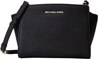 Michael Kors Women's Leather Messenger Bag